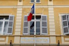Palais de Правосудие, St Tropez, Франция стоковое фото