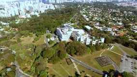 Palais de Bandeirantes dans le secteur de Morumbi Ville de Sao Paulo, état de Sao Paulo/du Brésil clips vidéos
