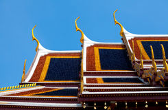 palais de Bangkok royal photo stock