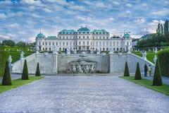 Palais de belvédère à Vienne photo libre de droits