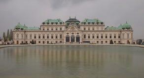 Palais de belvédère à Vienne images libres de droits
