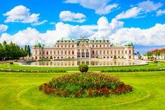 Palais de belvédère à Vienne photographie stock