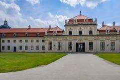 Palais de belvédère à Vienne, Autriche photo libre de droits