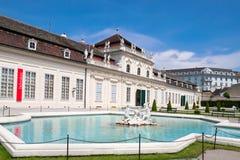 Palais de belvédère à Vienne, Autriche photographie stock libre de droits