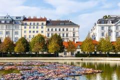 Palais de belvédère à Vienne, Autriche image stock