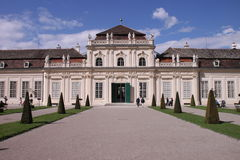 Palais de belvédère Photographie stock libre de droits
