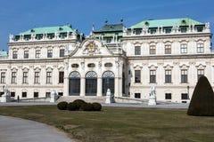 Palais de belvédère photo libre de droits