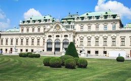 Palais de belvédère dans Wien, Autriche images stock