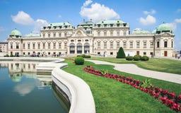 Palais de belvédère dans Wien, Autriche image libre de droits