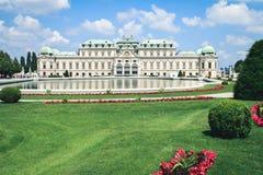 Palais de belvédère dans Wien, Autriche photographie stock libre de droits