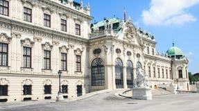 Palais de belvédère dans Wien, Autriche photographie stock