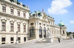 Palais de belvédère dans Wien, Autriche photos libres de droits
