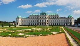 Palais de belvédère de Vienne photographie stock