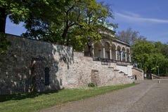 Palais de belvédère - le jardin royal à Prague l'Europe photo stock
