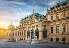 Palais de belvédère, Vienne, Autriche photographie stock
