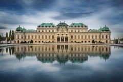Palais de belvédère, Vienne, Autriche image libre de droits