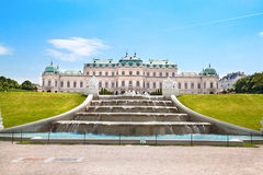 Palais de belvédère, Vienne, Autriche photo stock