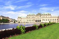 Palais de belvédère, Vienne, Autriche image stock
