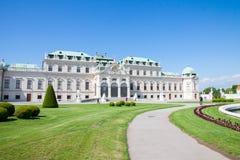 Palais de belvédère, Wien, Autriche photo stock