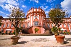 Palais de Biebrich à Wiesbaden Photo stock