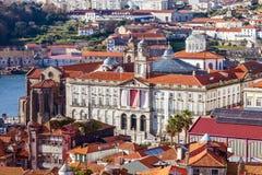 Palais de bourse des valeurs, ou Palacio DA Bolsa Image libre de droits