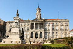 Palais de bourse des valeurs. Porto. Portugal photo stock