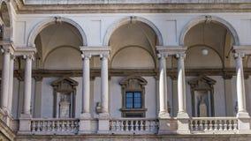 Palais de Brera images stock