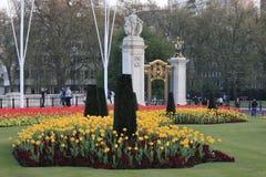 Palais de Buckingam à Londres image libre de droits