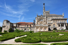 Palais de Bussaco, Portugal Photo libre de droits