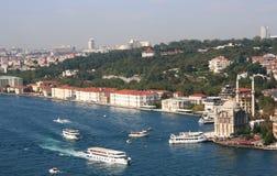 Palais de Buyuk Mecidiye Mosque&Feriye, Istanbul images libres de droits