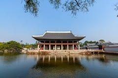 Palais de côté de Gyeongbokgung Photo stock