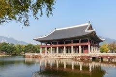 Palais de côté de Gyeongbokgung Photographie stock libre de droits