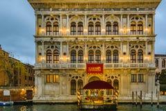 Palais de casino, Venise, Italie photographie stock
