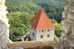 Palais de château de Kokorin images libres de droits