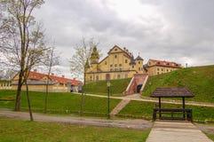 Palais de château de Nesvizh et complexe de château dans Nesvizh, Belarus Connu depuis 1583 photographie stock