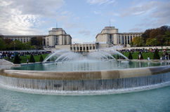Palais de Chaillot Royalty Free Stock Photo