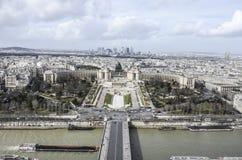 Palais DE Chaillot, Parijs Stock Fotografie
