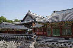 Palais de Changdeok, Corée du Sud Photographie stock libre de droits