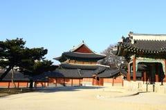 Palais de Changdeok, Corée du Sud Images libres de droits