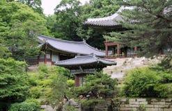 Palais de Changdeokgung Photos stock