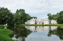 Palais de Chineese près du lac dans Oranienbaum Images libres de droits