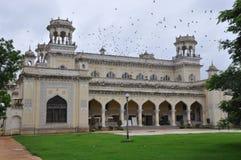 Palais de Chowmahalla à Hyderabad, Inde Images stock