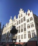 Palais de corporations dans Grand Place ou Grote Markt Bruxelles Belgique Image stock
