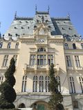 Palais de culture dans Iasi (Roumanie) Images libres de droits
