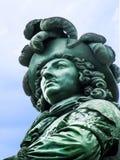 Palais de détail de statue de Versailles - de Louis XIV Photographie stock