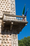 Palais de diamant. Ferrare. l'Emilia-romagna. l'Italie. Photos stock