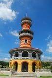 Palais de douleur de coup dans la province d'Ayutthaya, Thaïlande Photos stock