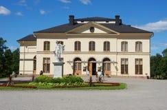 Palais de Drottningholm en Suède images libres de droits