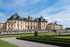 Palais de Drottningholm, Stockholm, Suède Photos libres de droits