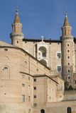 Palais de duc - Urbino Image stock
